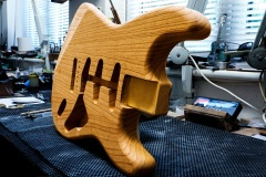 Strat Art guitar
